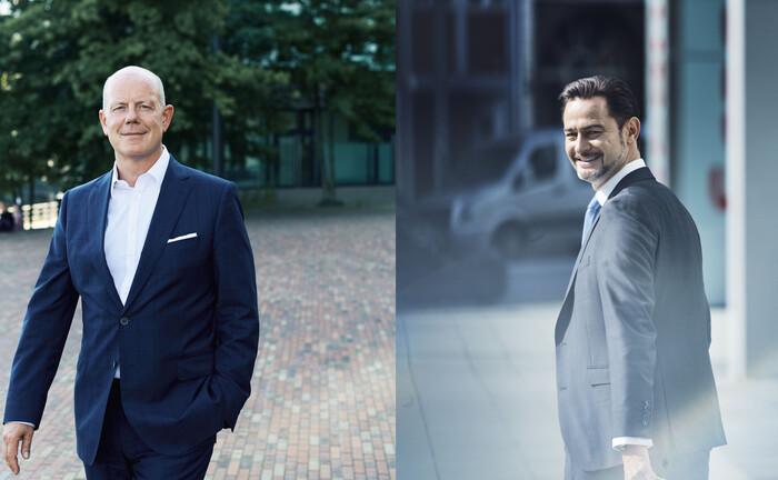 Michael Bütter und Martin Brühl von Union Investment Real Estate