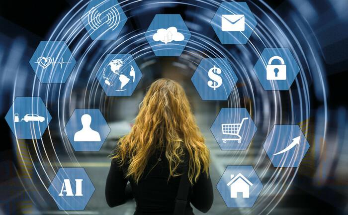 Blockchain, Online-Handel, Nachhaltigkeit, Cloud-Technik