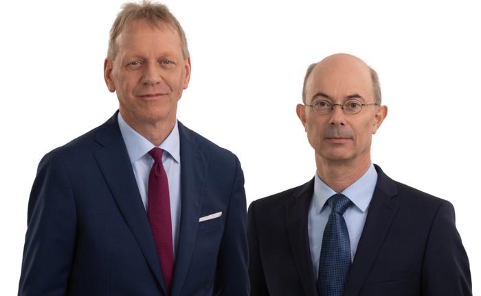 Die Vorstände der VBV Pensionskasse, Gernot Heschl (l.) und Günther Schiendl