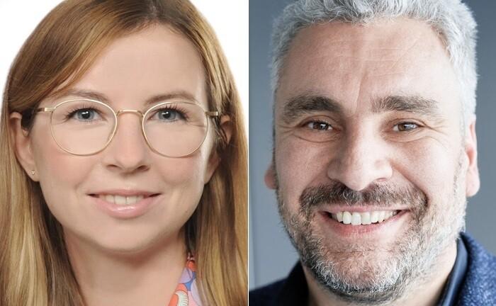 Kathrin Nadenau und Axel Sarnitz von der Beratungsforma zeb