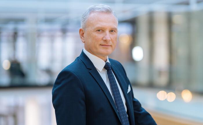 André Heimrich, seit 2013 Vorstandsmitglied und Leiter des Bereichs Kapitalanlagen bei der BVK