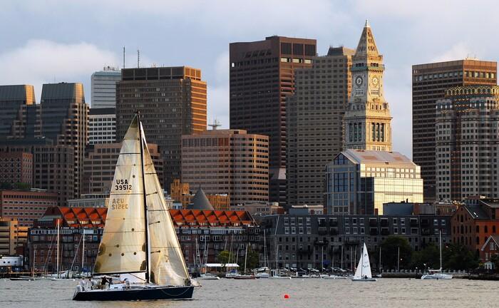 Die Skyline Bostons