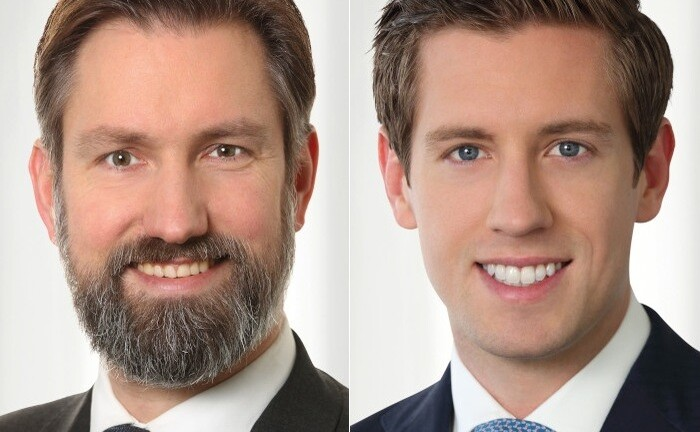 Tilo Wendorff (l.) und Philip Rotering von Prime Capital