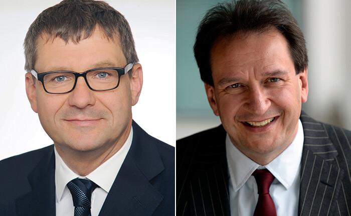 Volker Kurr (l.) und Martin Reeves von LGIM