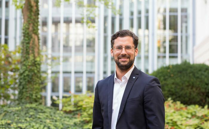 Jens Göhner von der Stuttgarter Lebensversicherung