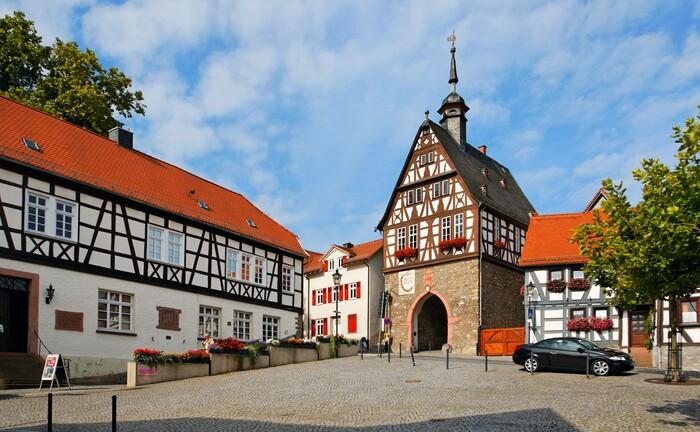 Das ehemalige Rathaus aus dem 17. Jahrhundert in Oberursel