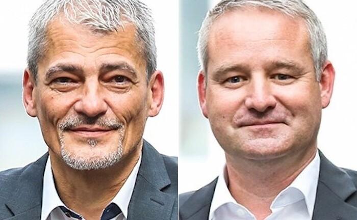 Robert Elster (r.) und Armin Deppert vom Vermögensverwalter Elster & Partner