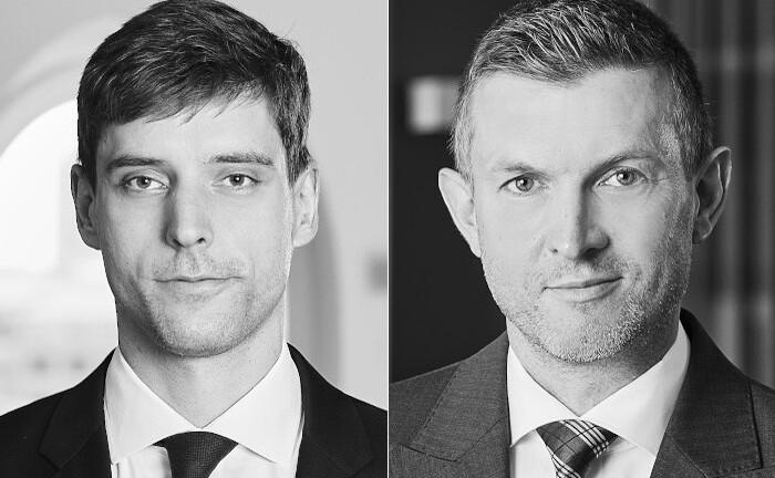 Sönke Padeken (l.) und Hendrik Hölscher