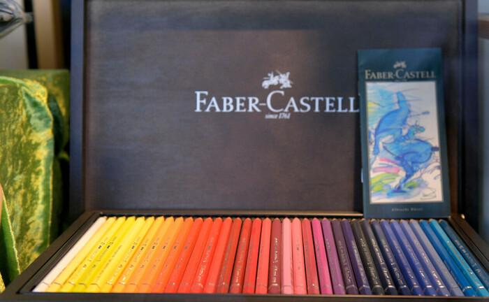 Farbmalstifte von Faber-Castell