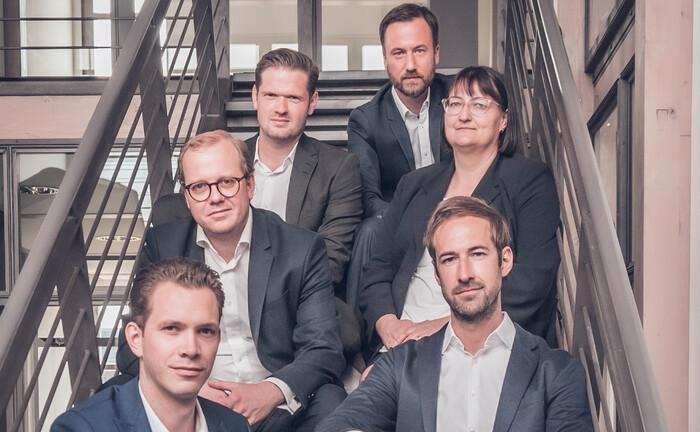 Das Team der neuen Fondsrechts-Kanzlei Orbit