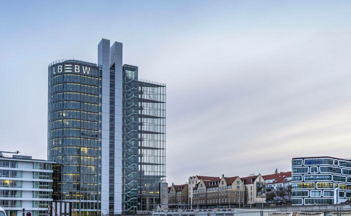 Die Zentrale der LBBW in Stuttgart