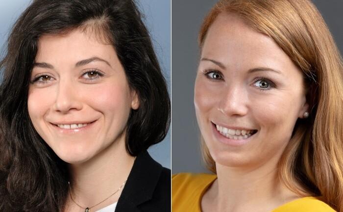Lucia Wieder (l.) und Kerstin Andert: Die beiden Steuerberaterinnen liefern die wichtigsten gesellschafts-, unternehmens- und steuerrechtlichen Vorschriften für Geschäftsführer.