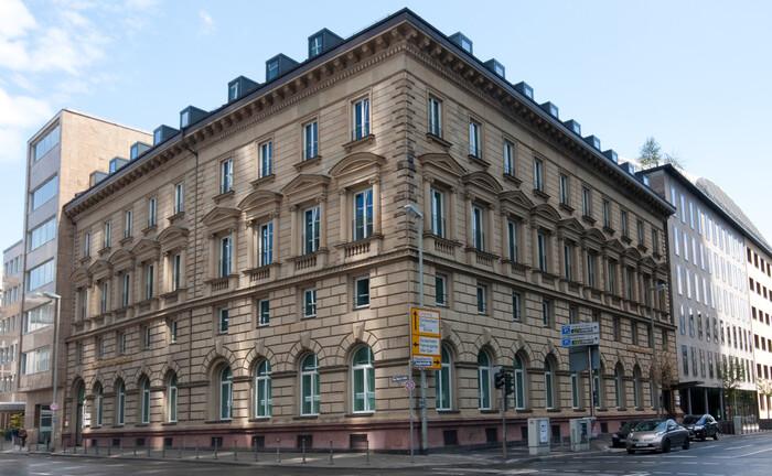 Hauptsitz der Frankfurter Bankgesellschaft (Deutschland) in Frankfurt