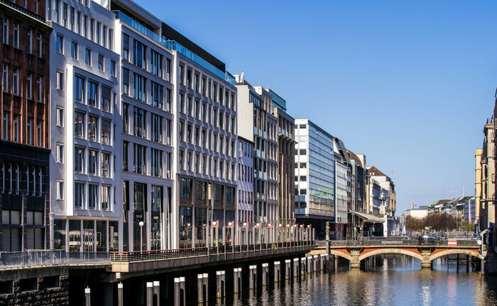Neuer Wall in Hamburg in bester Fleetlage