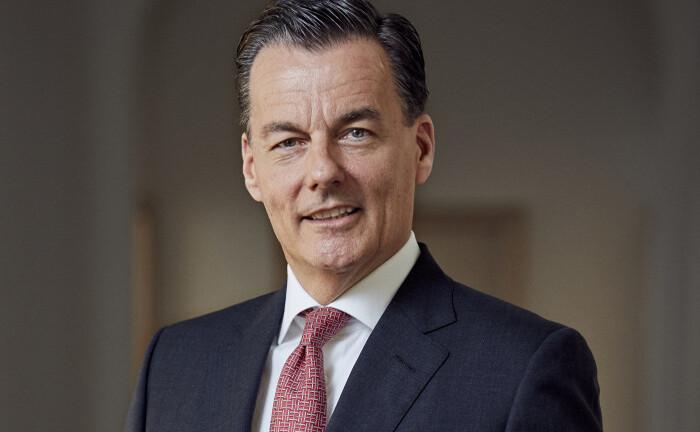 Norbert Kistermann vom Bankhaus Bauer
