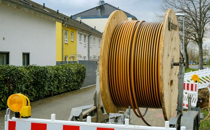 Glasfaserausbau im nordrhein-westfälischen Rheinbach