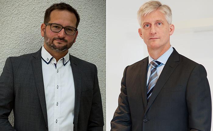 Stefan Tilch (r.) und Michael Münchow