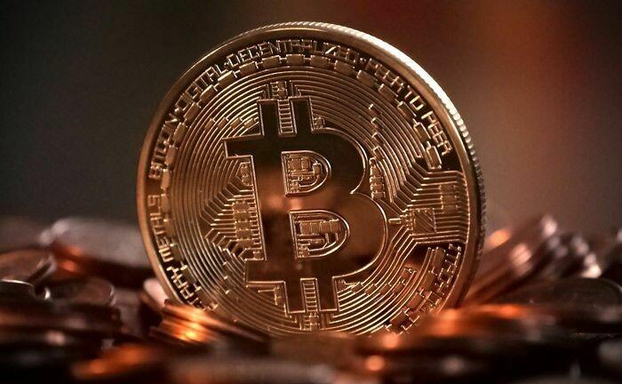 Ein fiktiver Bitcoin