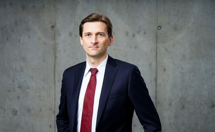 """Christoph Heumann, verantwortlich für Publikumsfonds bei Hanse Merkur Trust: """"Der Fonds eignet sich besonders für Anleger, die global, risikokontrolliert und nachhaltig in Aktien investieren möchten."""
