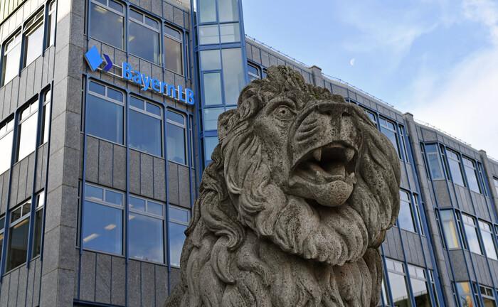 Der Hauptsitz der Bayern LB in München