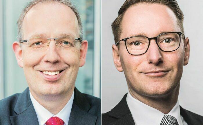 Jörg Plesse (links) und Hubert Hoffmann