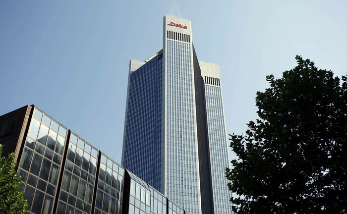 Die zentrale der Deka in Frankfurt am Main