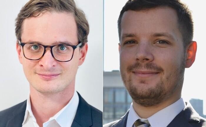 Marc Rohloff (l.) und Jan-Erik Schmidt