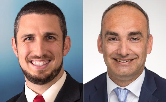 John Levy (l.) und Gaston Brandes von Franklin Templeton Investments