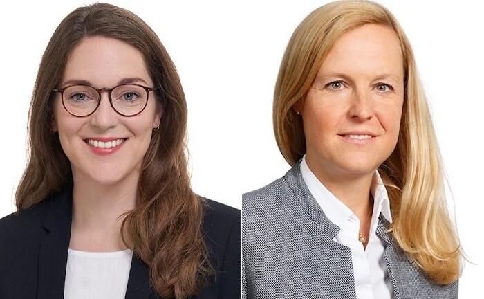 Cornelia Maetschke-Biersack (r.) ist promovierte Rechtsanwältin und Partnerin der Kanzlei Taylor Wessing in Düsseldorf. Johanna Beermann ist ebenfalls Rechtsanwältin der Kanzlei Taylor Wessing und Mitglied der Praxisgruppe Private Client.