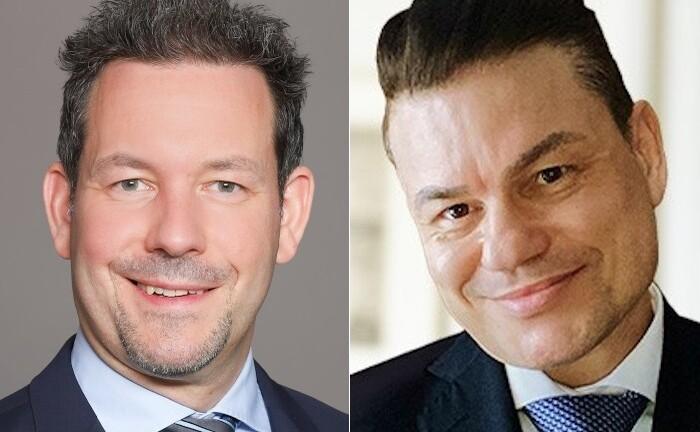 Engin Kizilisik (r.) und Sven Schmidtke heuern bei Hauck & Aufhäuser: Die beiden erfahrenen Private Banker sind für vermögende Privakunden und Unternehmer zuständig.