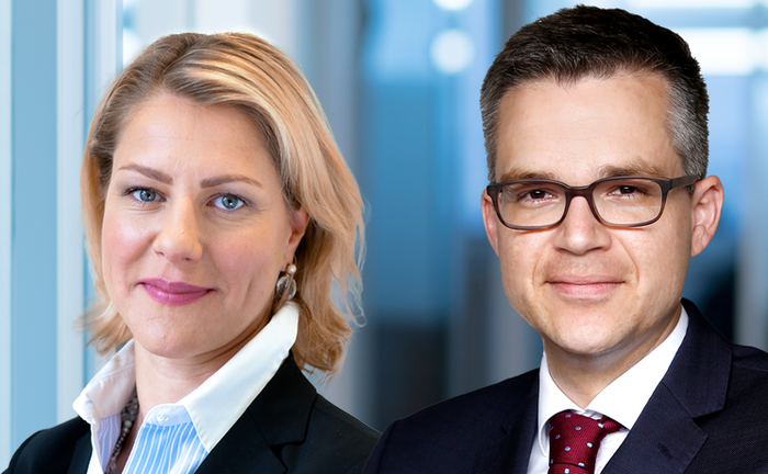 Gabriele Lange und Tobias Moroni von Institutional Investment Partners