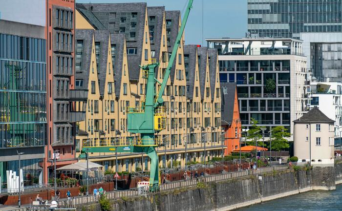 Der alte Zollhafen in Köln