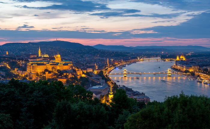 Ungarns Hauptstadt Budapest