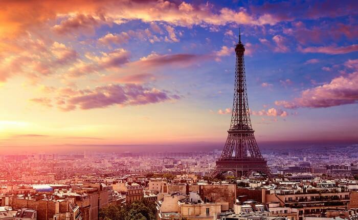 Die Skyline von Paris