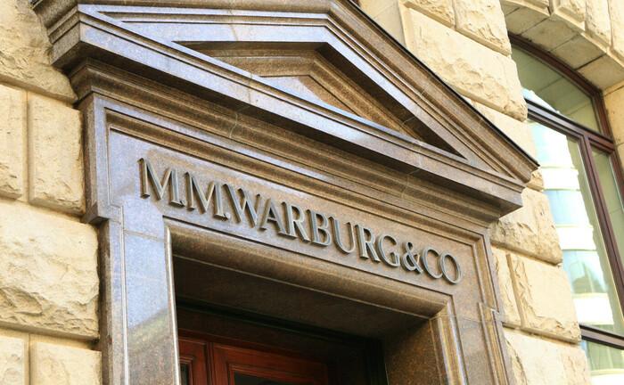 Zentrale der Hamburger Privatbank M. M. Warburg & CO in der Ferdinandstraße