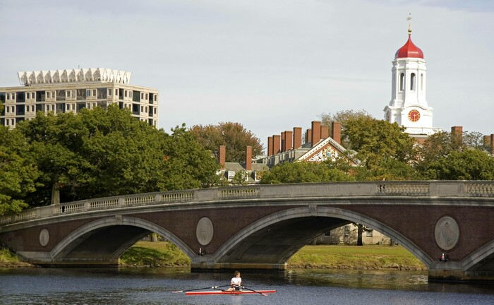 Die Elite-Universität Harvard im US-Bundesstaat Massachusetts