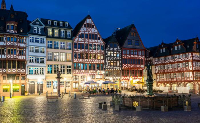 Die Altstadt von Frankfurt am Main