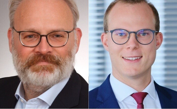 Jörgchristian Klette (r.) und Sven Wanka