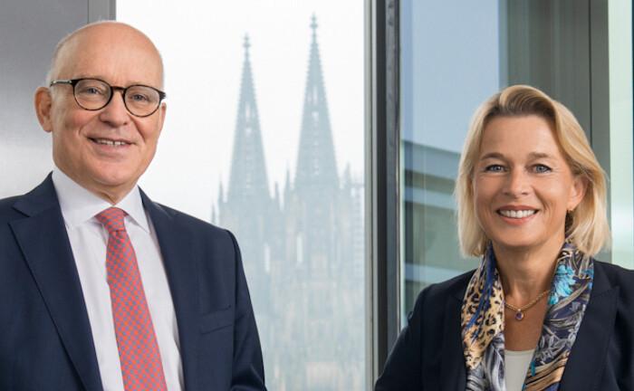 Stephan Knichel und Angela Müller-Valkyser, Vorstand von Tresono