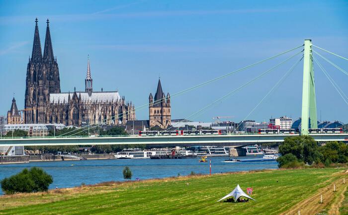 Blick auf den Dom von Köln