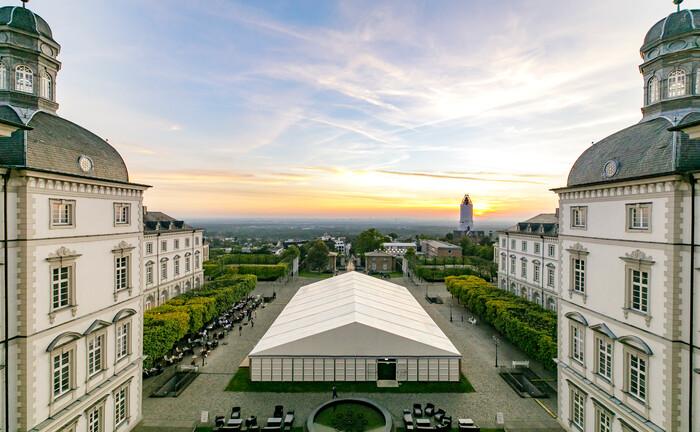Die Finpro fand im Luxushotel Schloss Bensberg bei Köln statt