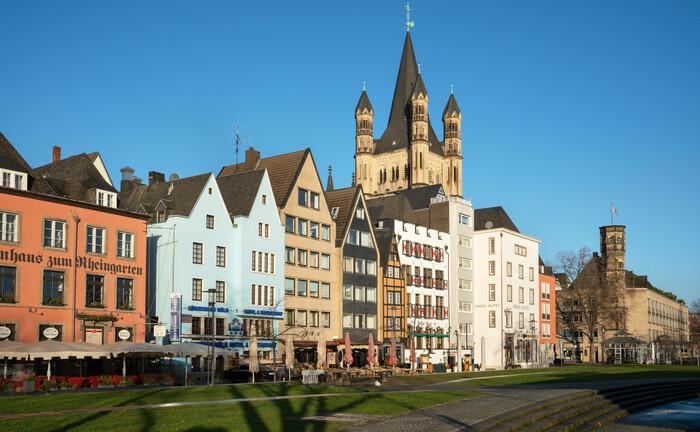 Die Altstadt von Köln