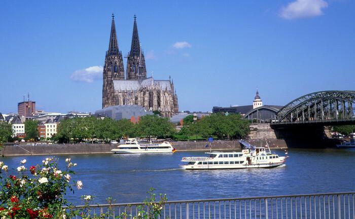 Kölner Dom, das Wahrzeichen der Stadt