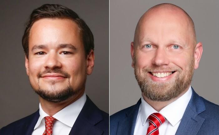 Simon Seiter (links) und Stephan Edelmann