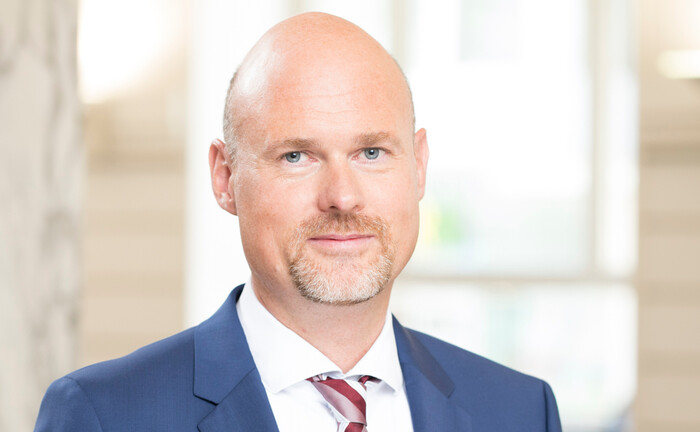 Dr. Christian Jasperneite von der Privatbank M.M. Warburg & CO