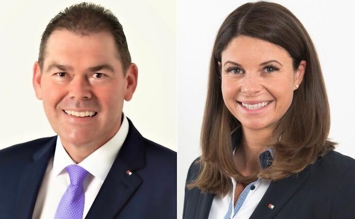 Stefan Hetzel und Stefanie Hofbauer arbeiten im Private Banking Deutschland der Bank für Tirol und Vorarlberg (BTV)