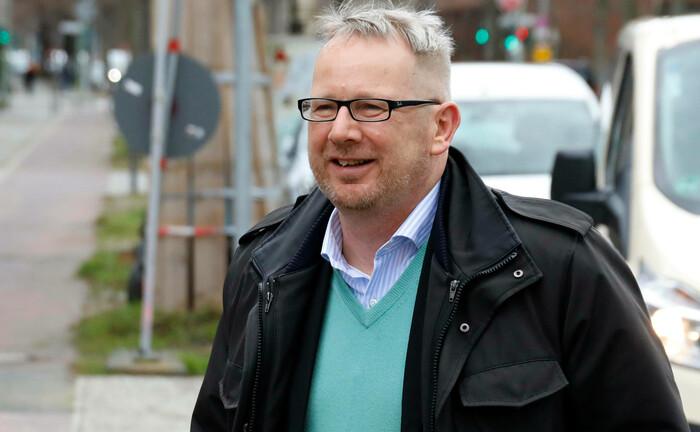 Johannes Kahrs im März 2020 beim Richtfest für den Bau des Jüdischen Campus Berlin