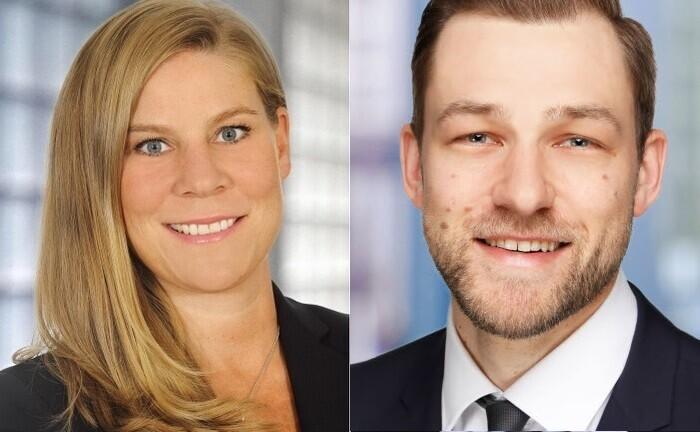 Maren Schmitz und Kevin Naumann von KPMG