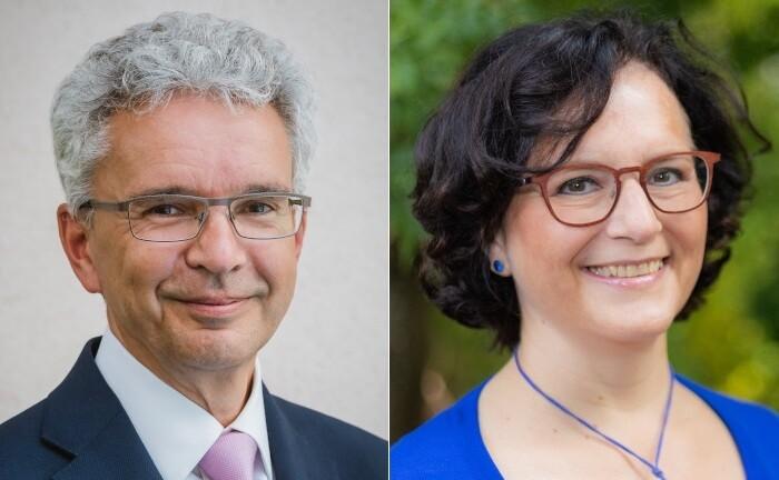 Renate Thalhammer-Herrmann und Bernd Stoltz
