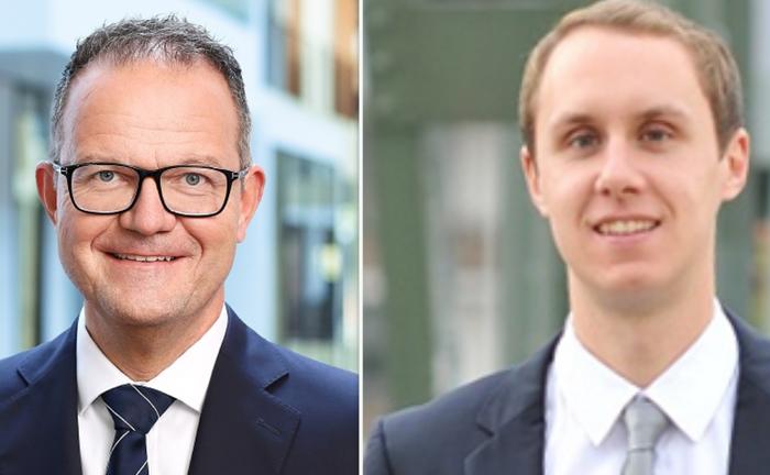 Volker Braunberger (links) und Benjamin Schaub von Intas Tech: Sie sehen den Gesetzgeber in der Führungsrolle.|© Intas Tech